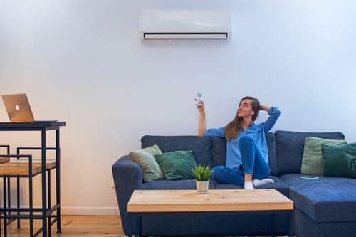 Климатици София 1 - всекидневна с климатик