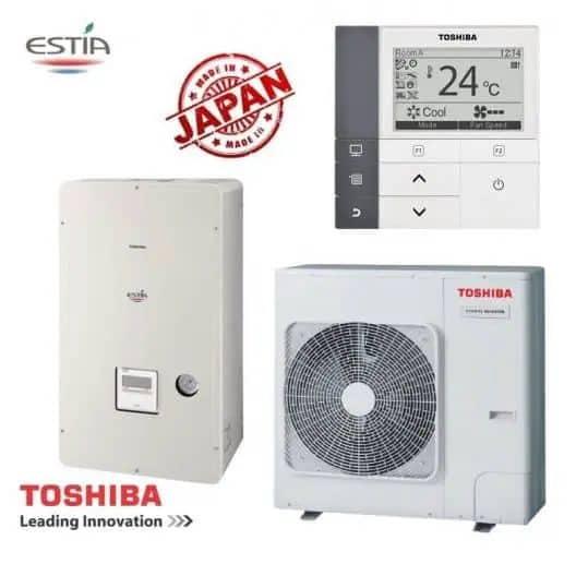 Термопомпи вода – въздух Toshiba 1 - термопомпа
