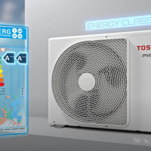 НОВО! Toshiba Edge A+++/A+++ с 5 години пълна гаранция